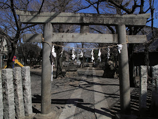 Miyoshino shrine at Kawagoe castle Toryanse