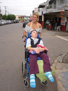 Na rua com Gabriel
