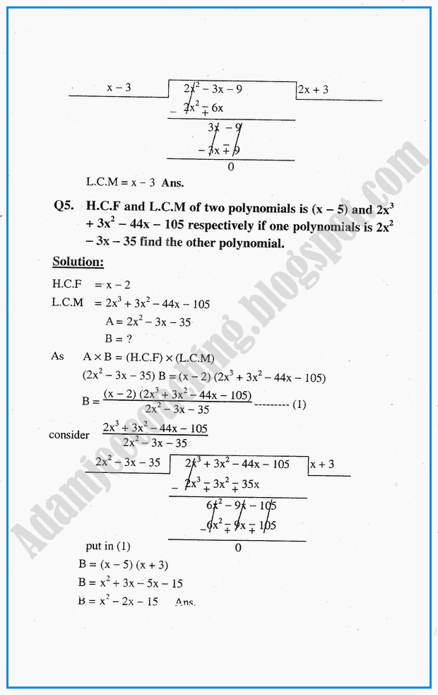 factorization-hcf-lcm-simplification-and-square-roots-question-answers-mathematics-notes-for-class-10th
