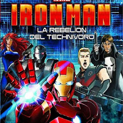 Poster Iron Man: Rise of Technovore 2013