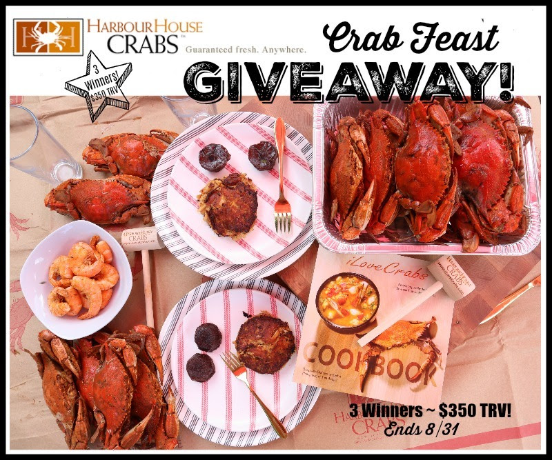 Harbour House Crabs Crab Feast Giveaway