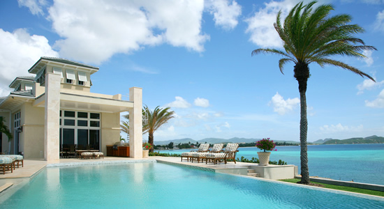 4 Bedroom Oceanfront Luxury Property, Dickenson Bay, Antigua