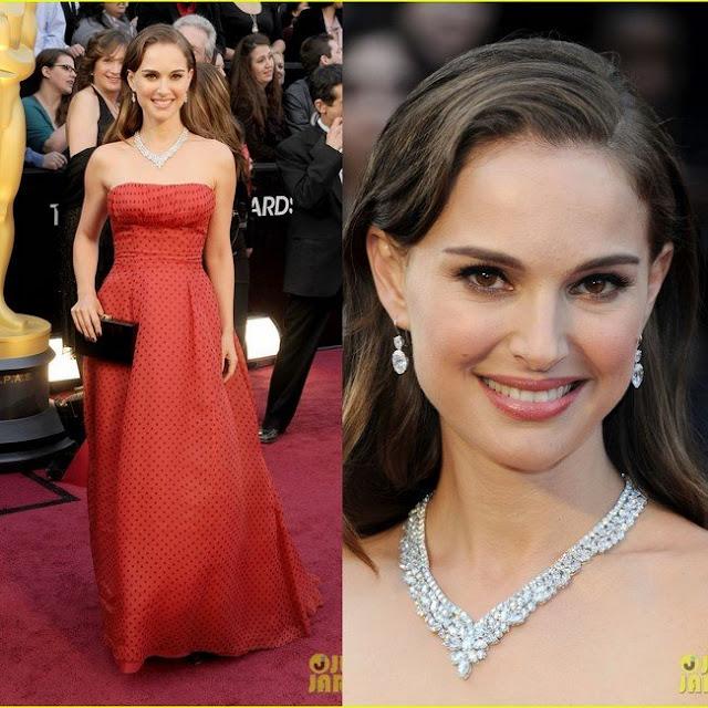 Look Natalie Portman Oscar 2012