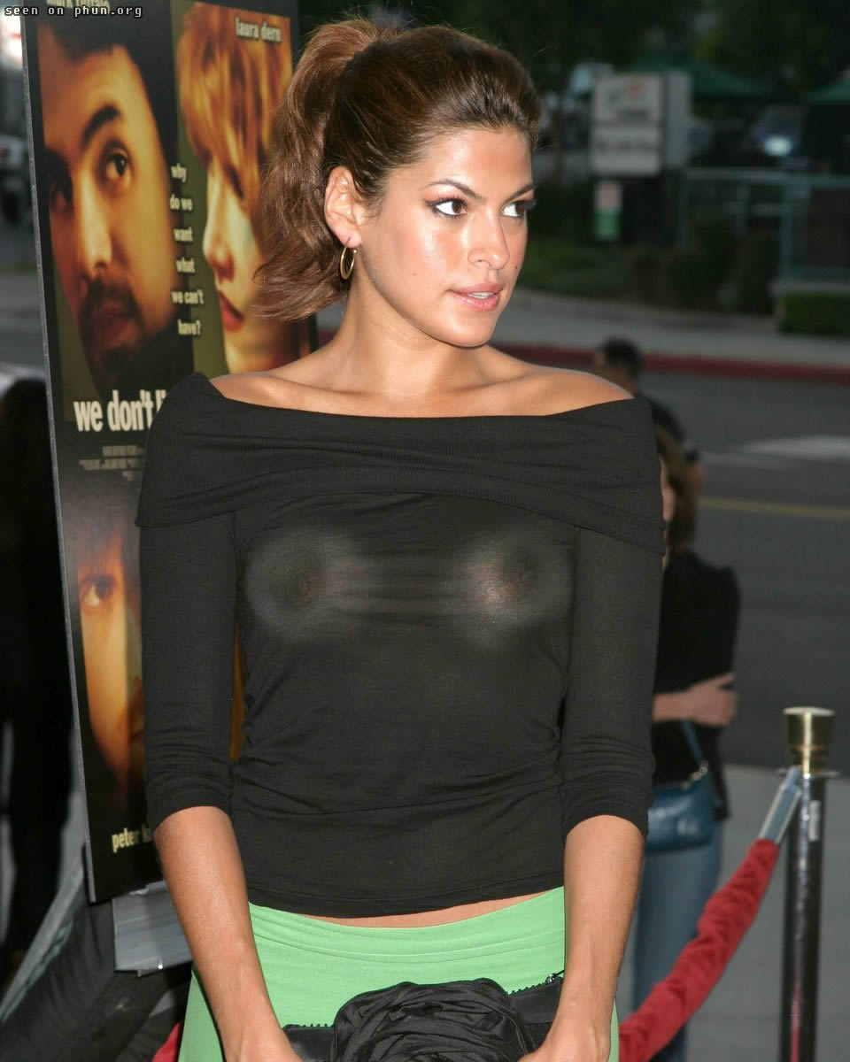 Hollywood Hot Actress Eva Mendes