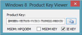 windows 8 pro product key viewer