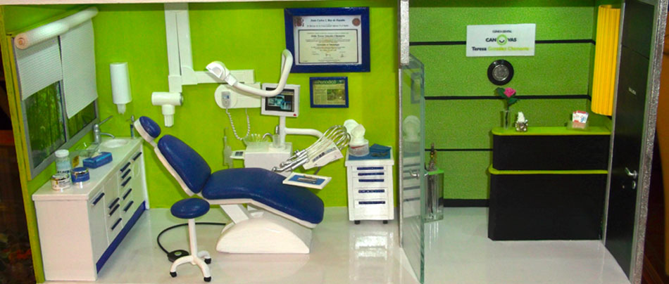 Miniaturas modernas cl nica dental - Clinicas dentales diseno ...
