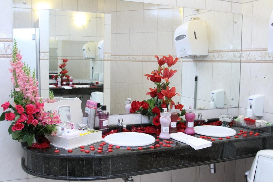Gepeto & Cia Decoração de Banheiro de Casamento -> Decoracao De Banheiro Para Festa De Casamento