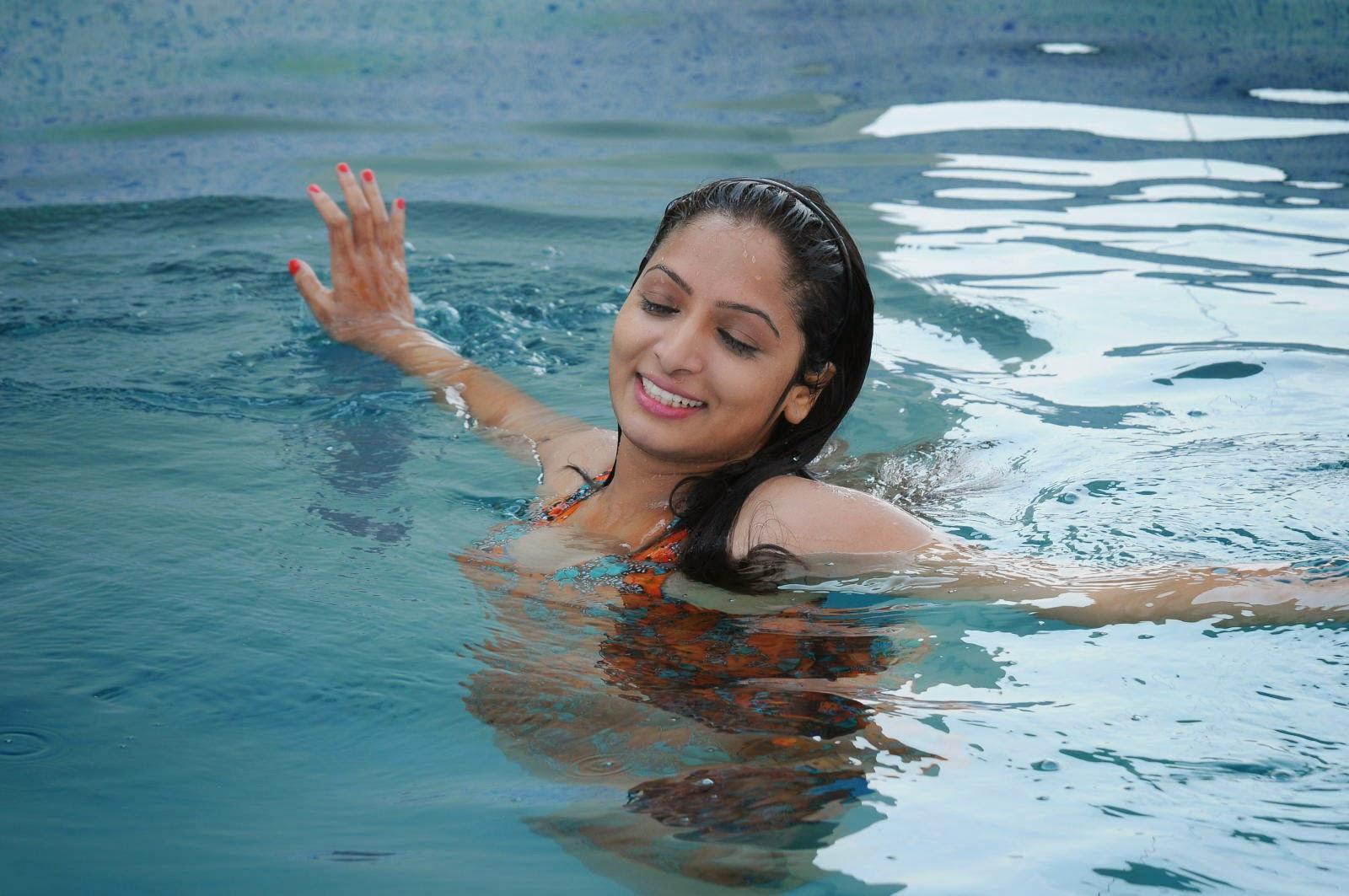 Priya Vashishta Stills From Swimming Pool Telugu Movie Indian Girls Villa Celebs Beauty