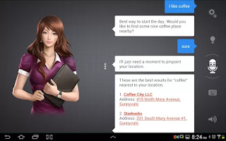Siri like App for Android for free, Assistant answers your questions, finds information, launches Apps and much more