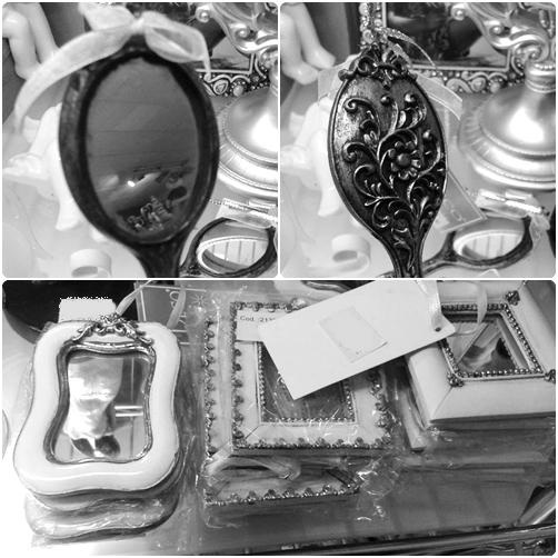 Espejo estilo victoriano