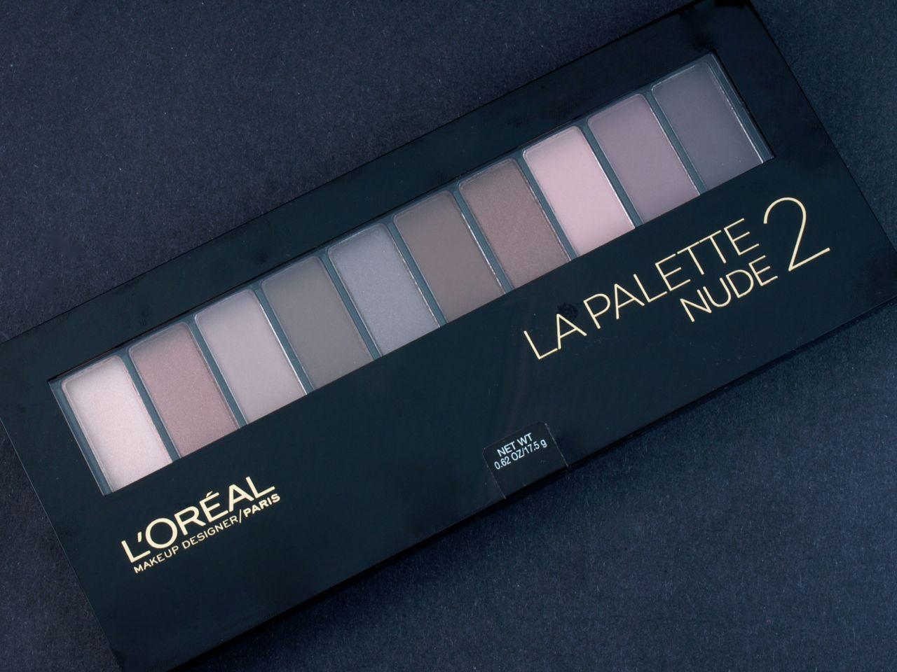 LOreal Paris Colour Riche La Palette Eyeshadow, Nude