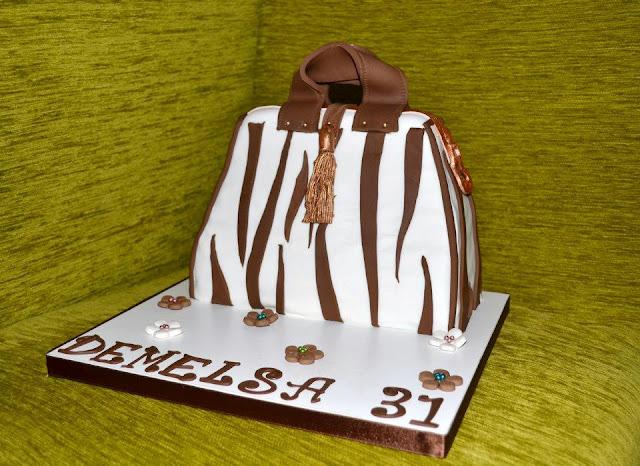 tarta bolso Fondant sugar dreams gandia