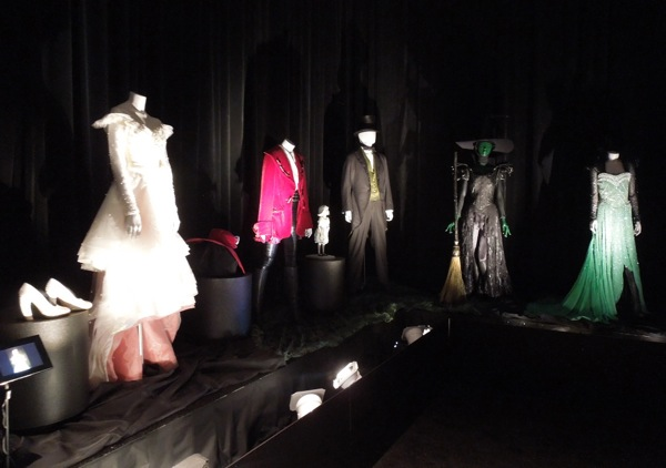 Oz The Great and Powerful movie costume exhibit