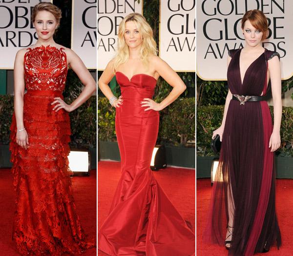 Diana Agron, Reese Witherspoon and Emma Stone (ki-ka) (c) latimes
