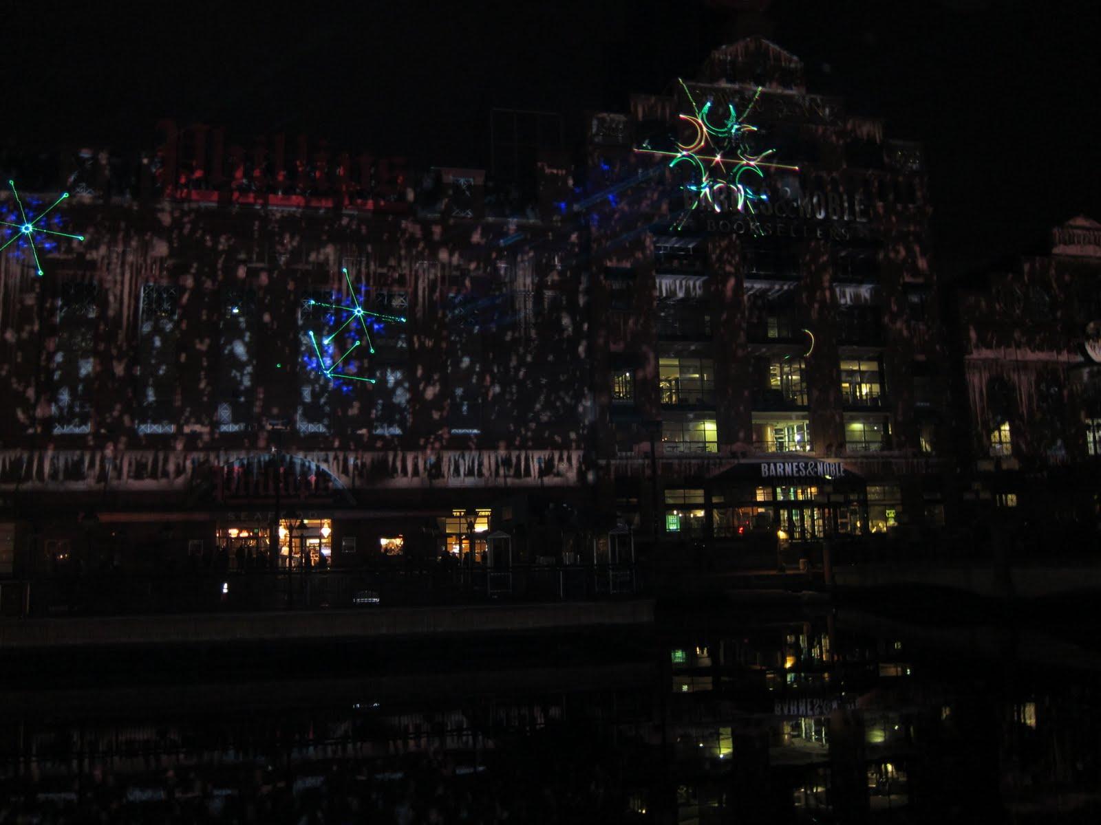 New Thing 11 19 11 Inner Harbor Light Show