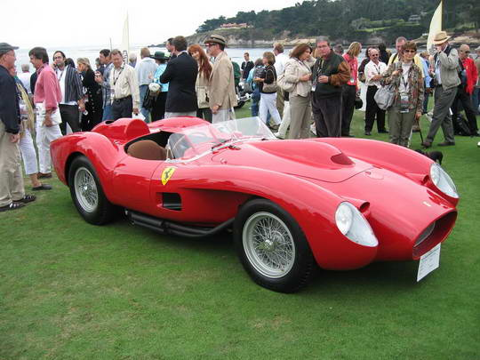 1957 Ferrari 250 Testa Rossa HR Sejarah Mobil Balap Paling Legendaris Sepanjang Masa