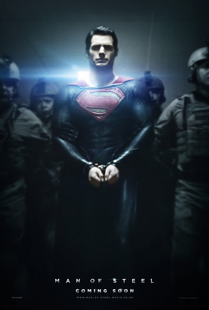 Man of Steel Teaser Poster shows Superman in chains