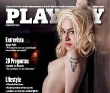 Militta Bora Playboy Argentina Julho 2015