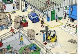 Sg sst actividades para identificar los peligros y for Riesgos laborales en una oficina
