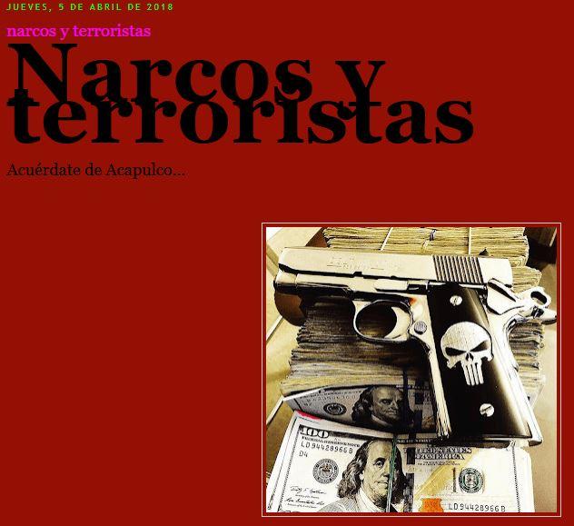 Narcos y terroristas acuérdate de Acapulco