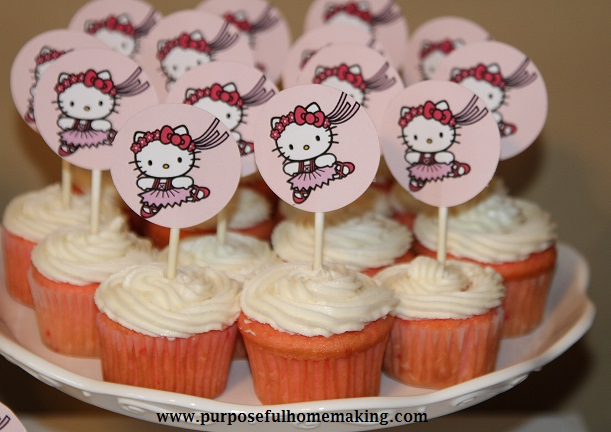 Purposeful Homemaking Hello Kitty Birthday Happy 6th Birthday
