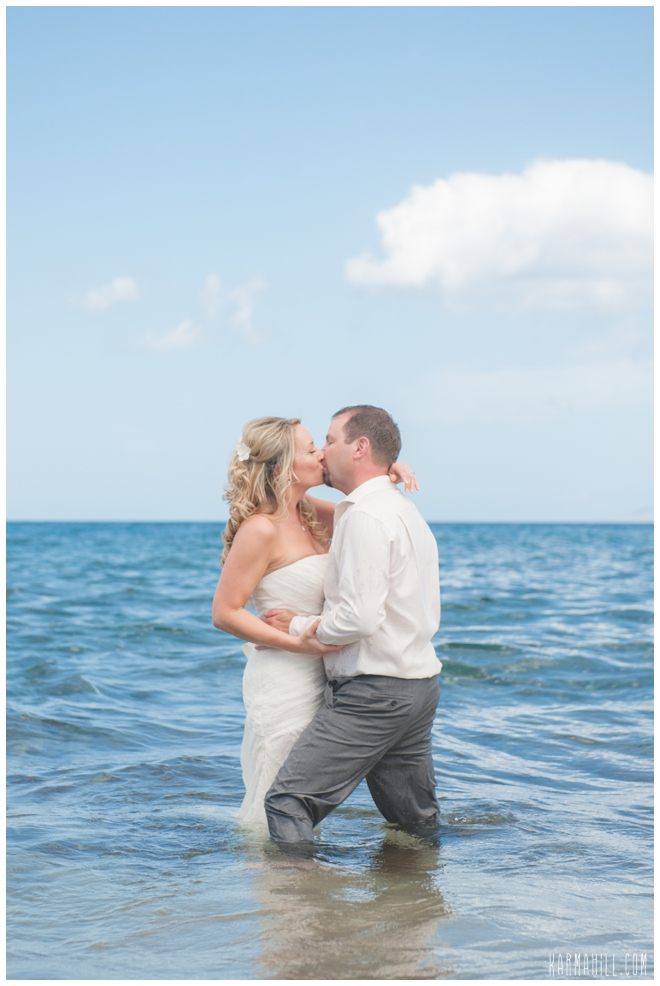 Dawn Amp Steves Maui Wedding And Trash The Dress By