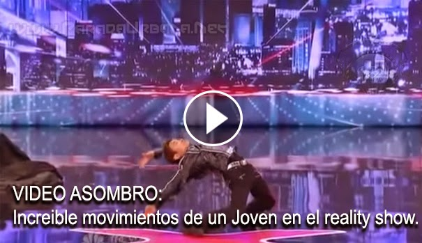 VIDEO ASOMBROSO - Un Joven con sus movimientos tipo matrix, sorprende al jurado y publico en American Got Talent
