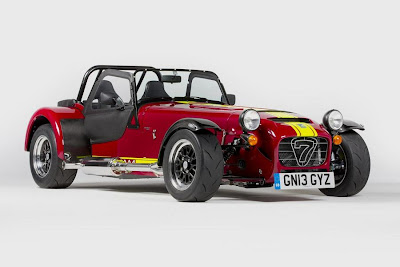 Caterham Seven 620R (2014) Front Side