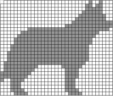 Graph Pattern For Knitting : ChemKnits: Dog Themed Knitting Charts