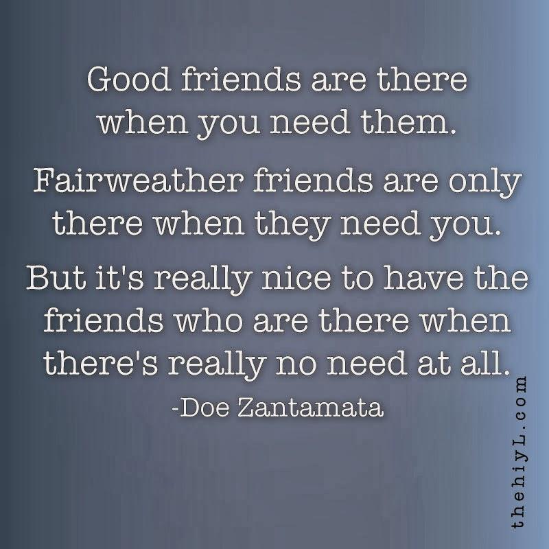 Doe Zantamata Quotes: Friends