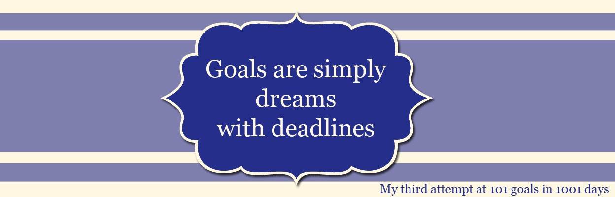 Goals are Simply Dreams with Deadlines