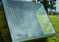 Panel solar térmico de Fomento Solar.