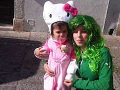 HELLO KITTY E LEOA MATRAFONA!