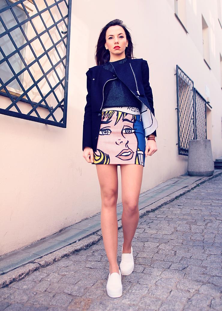 comics skirt
