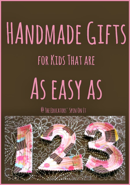 Handmade Gift Ideas for Toddlers and Preschoolers from The Educators' Spin On It