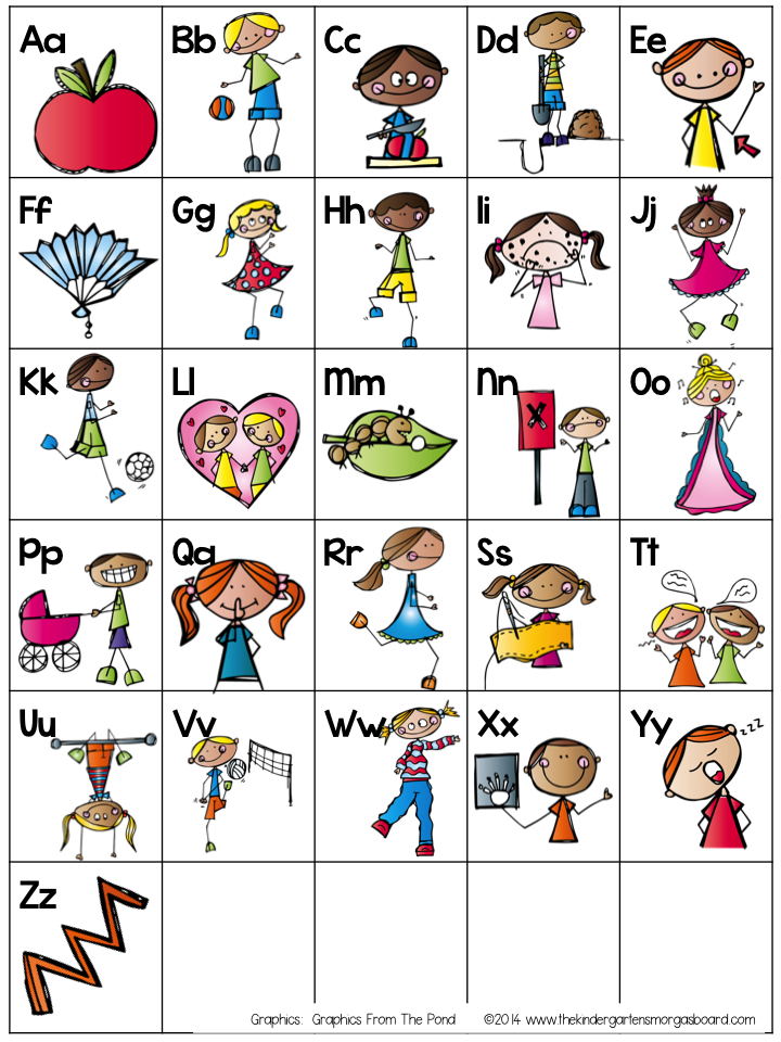 Alphabet Charts For Kindergarten Alphabet Chart Freebie