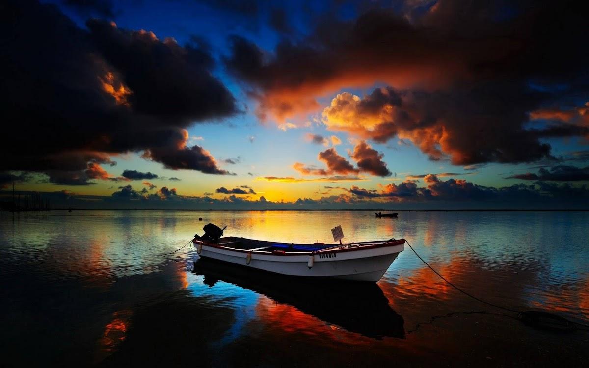 Amazing Sunset Widescreen HD Wallpaper