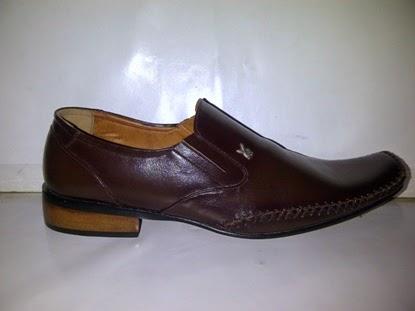 sepatu krja coklat,pantofel kerja,