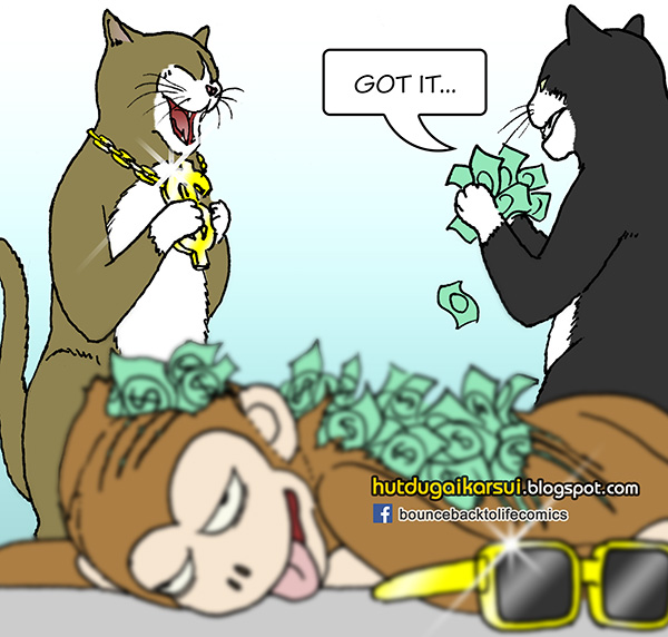 Singapore Comics - There's Money in Monkey