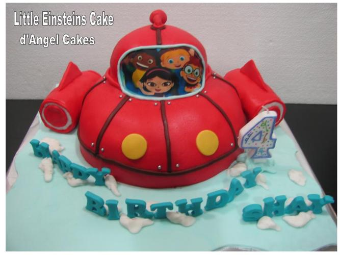 Dangel Cakes Little Einsteins Cake For Shay