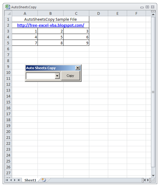 AutoSheetsCopy_01_Initial_Window_Free-Excel-VBA.Blogspot.com