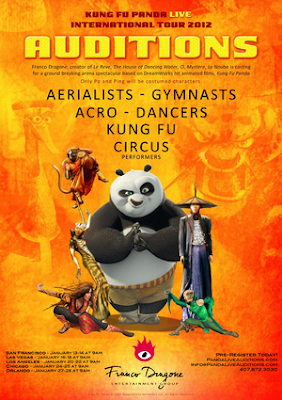 Kung Fu Panda Live Auditions