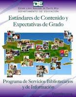 Estándares y Expectativas de Bibliotecas