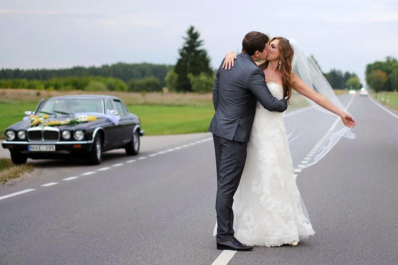 Jaguar automobilis vestuvėms