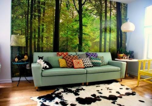 Memilih Wallpaper Sesuai Jenis Ruangan