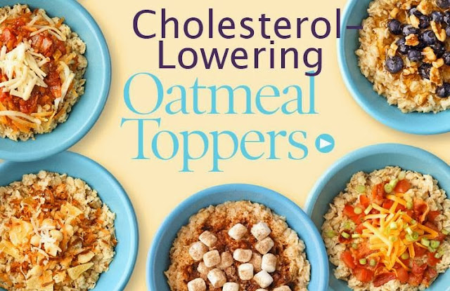 Cholestrol Lowering Oatmeal Toppers
