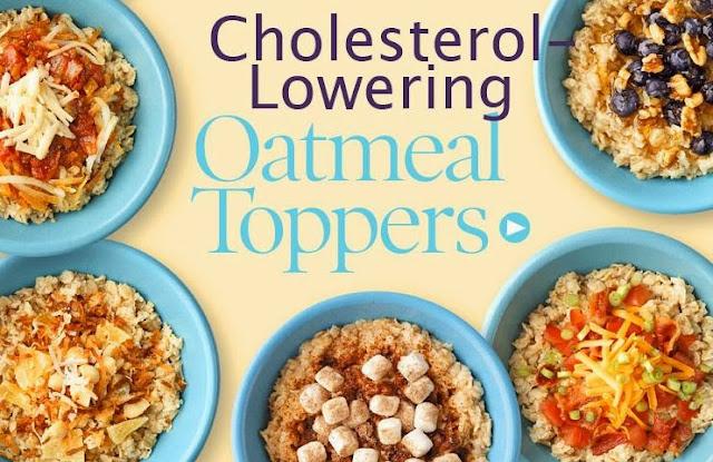 Cholestrol Lowering Oatmeal Toppers