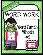 http://www.teacherspayteachers.com/Product/Word-Work-Word-Family-Wheels-2-FREEBIE-1073980