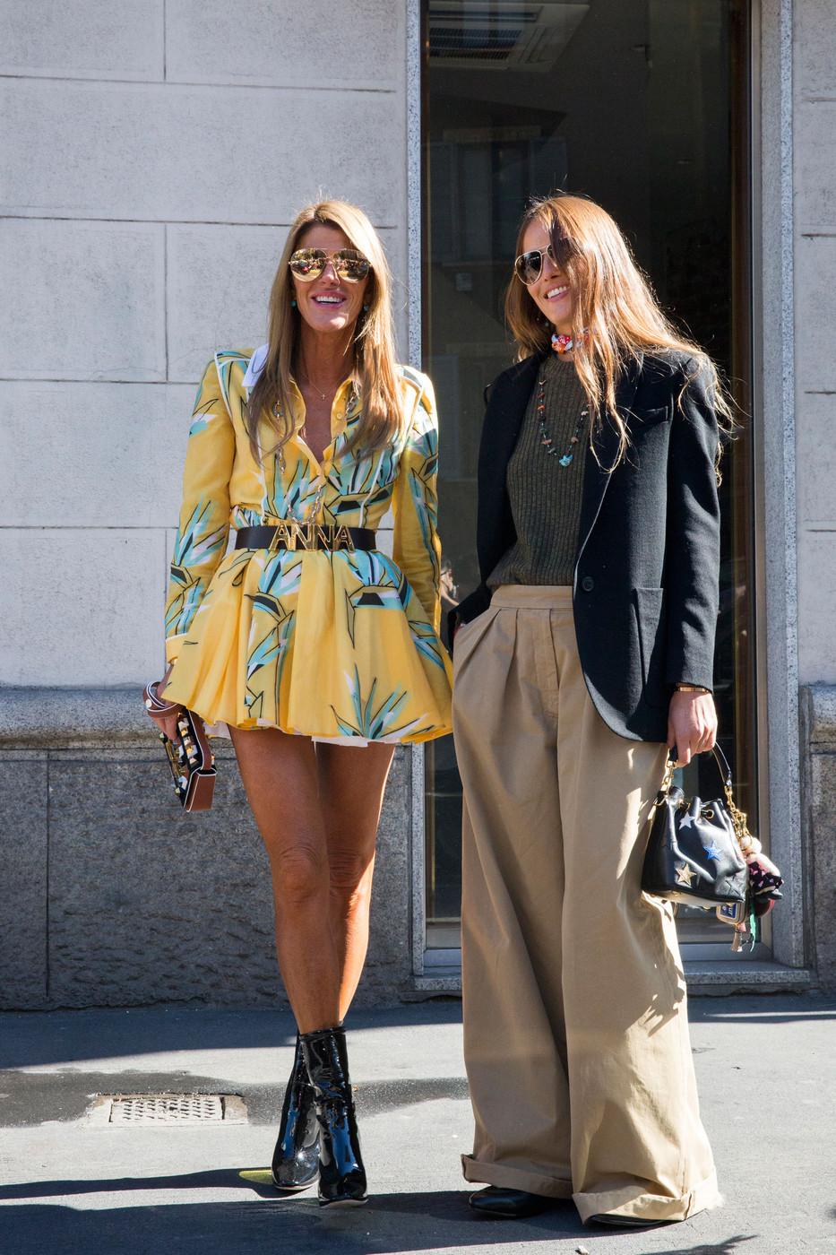 Attendee Street Style at Milan Fashion Week Spring/Summer ...