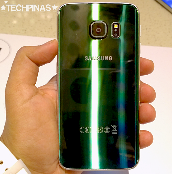 Samsung Galaxy S6 Edge, Samsung Galaxy S6 Edge Green Emerald